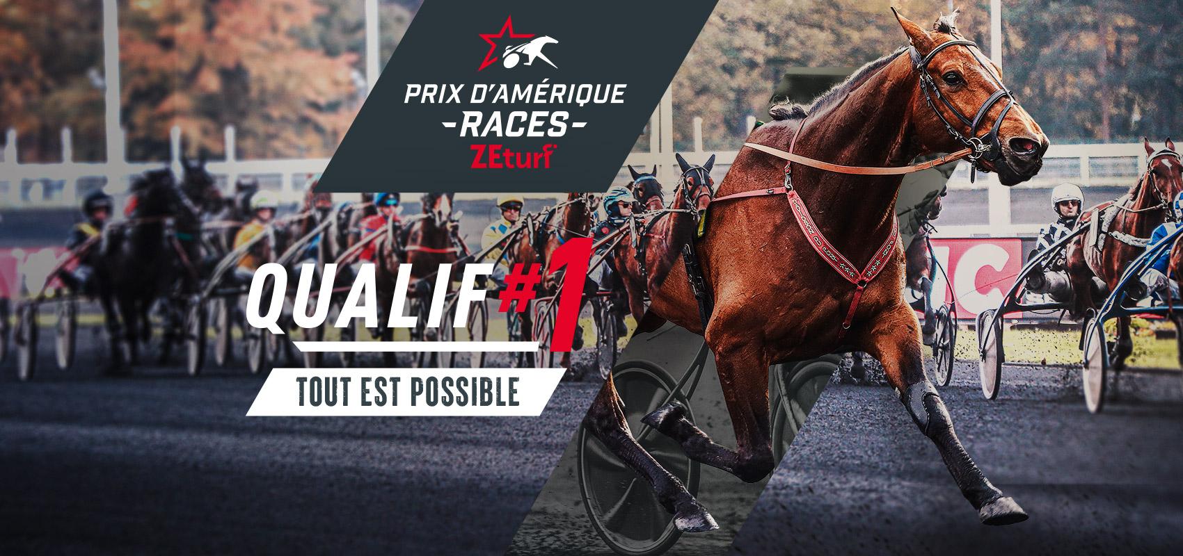Prix d'Amérique Races ZEturf Qualif #1: the runners