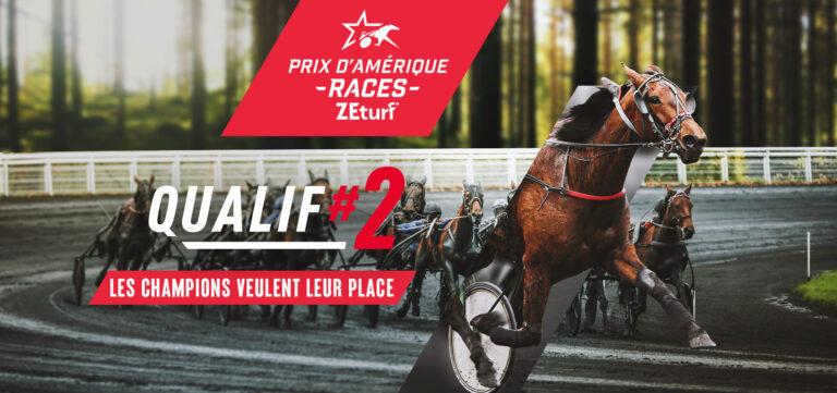 Prix d'Amérique Races ZEturf Qualif #2 : 17 partants probables