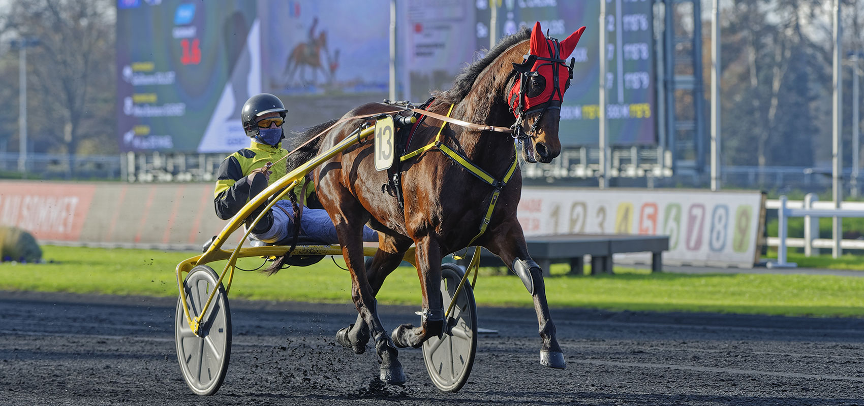 Bahia Quesnot wins in Italy
