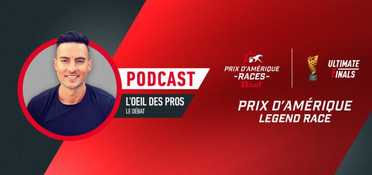 L'oeil des Pros - L'analyse du Prix d'Amérique Legend Race