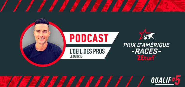 L'oeil des Pros débrief Qualif#5 PRIX D'AMÉRIQUE RACES ZEturf