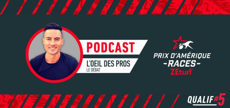 L'oeil des Pros débat Qualif#5 PRIX D'AMÉRIQUE RACES ZEturf