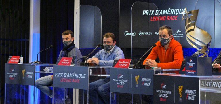 Conférence de presse - Prix d'Amérique Races «Legend Race»