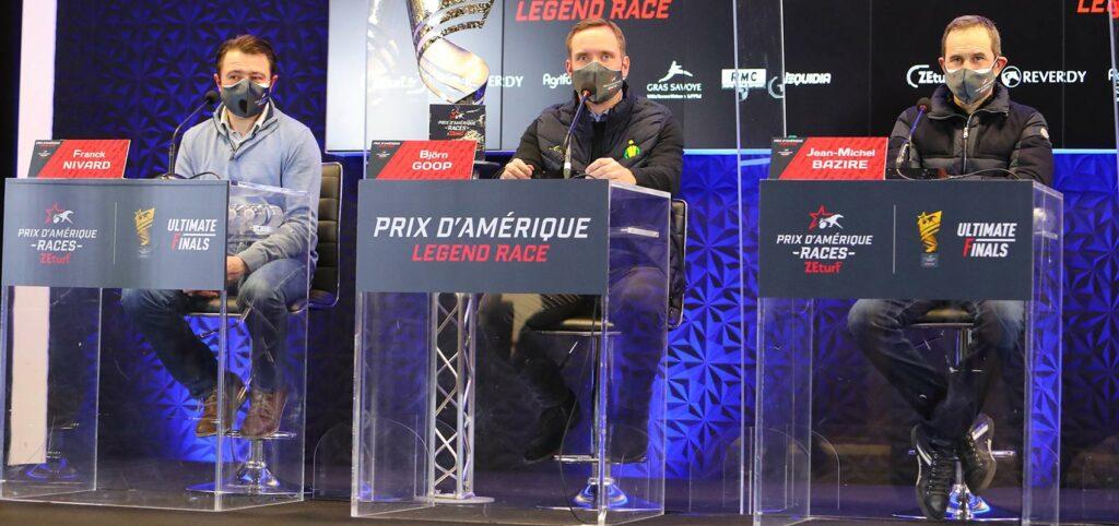 conférence de presse prix d'amérique legend race