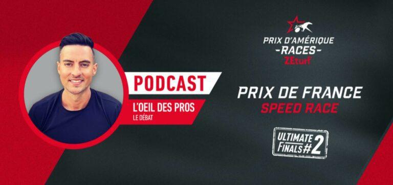 L'Oeil des Pros - L'analyse du Prix de France Speed Race
