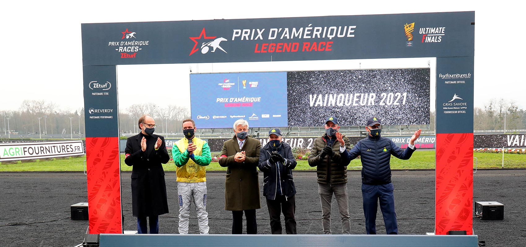 records prix d'amérique legend race